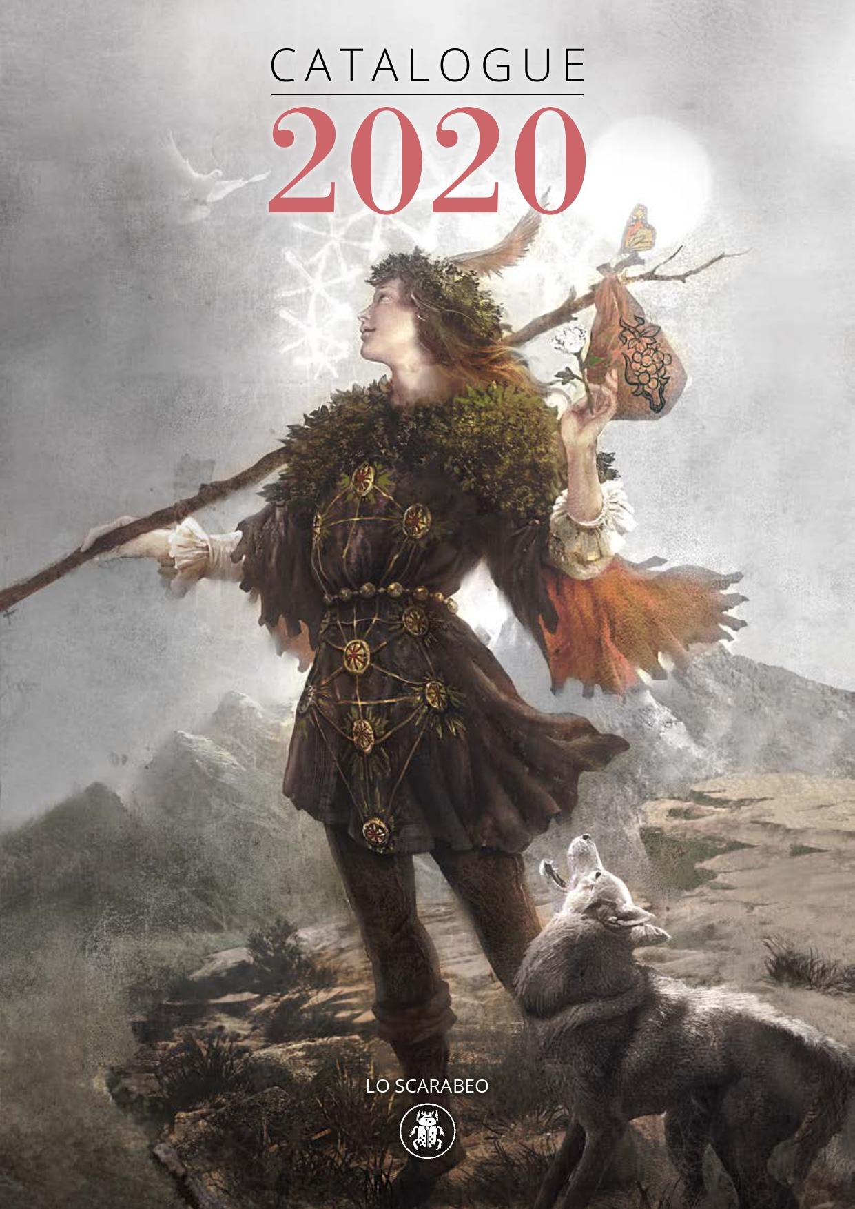 Обложка каталога Ло Скарабео (Lo Scarabeo) 2020