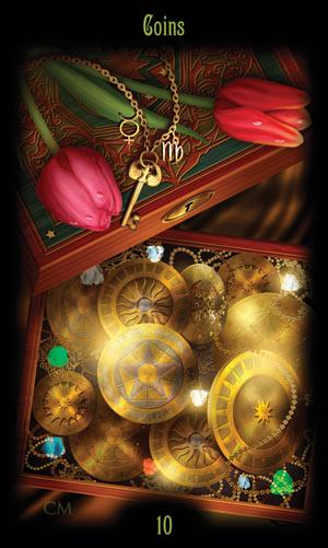 10 Монет Таро Божественного Наследия