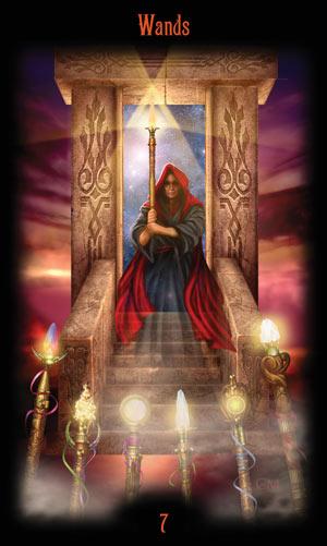 7 Жезлов Таро Божественного Наследия