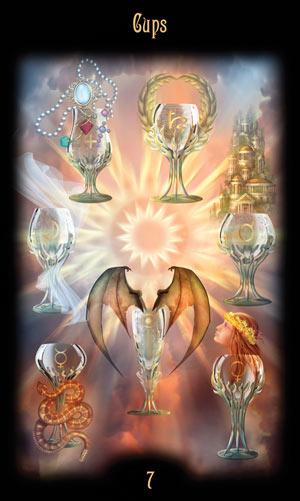 7 Кубков Таро Божественного Наследия