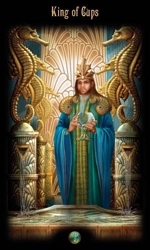 Король Кубков Таро Божественного Наследия