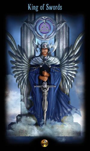 Король Мечей Таро Божественного Наследия