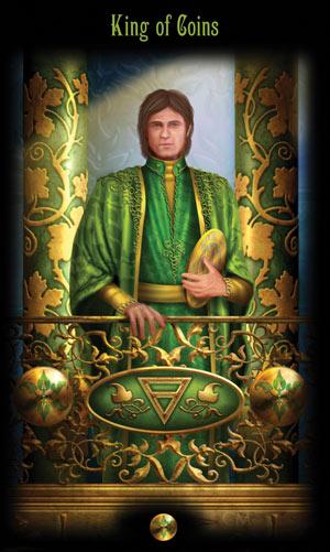 Король Монет Таро Божественного Наследия