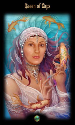 Королева Кубков Таро Божественного Наследия