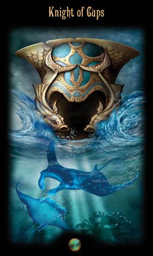Рыцарь Кубков Таро Божественного Наследия