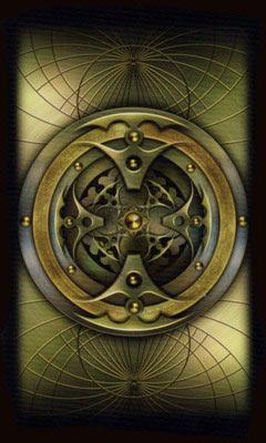 Рубашка Карт Таро Божественного Развития
