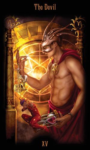 15 Дьявол Таро Божественного Наследия