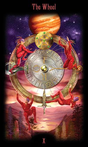 10 Колесо Фортуны Таро Божественного Наследия