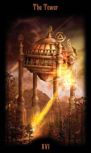 16 Башня Таро Божественного Наследия