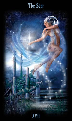 17 Звезда Таро Божественного Наследия