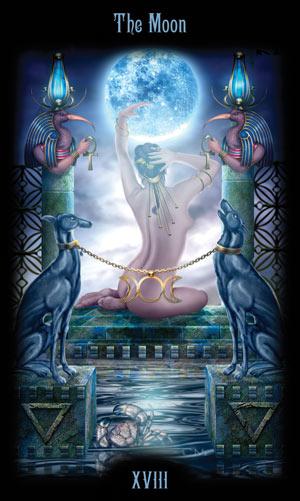 18 Луна Таро Божественного Наследия