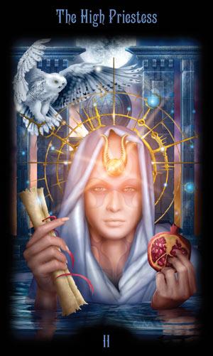 2 Верховная Жрица Таро Божественного Наследия