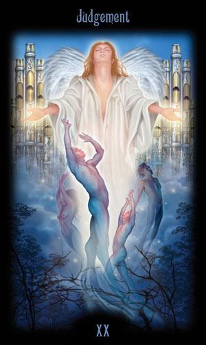 20 Суд Таро Божественного Наследия