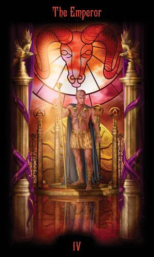 4 Император Таро Божественного Наследия