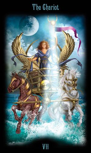 7 Колесница Таро Божественного Наследия
