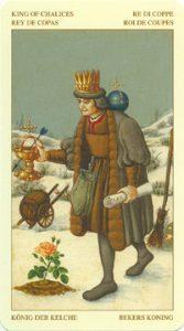 Таро Брейгеля Король Кубков