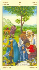 Таро Брейгеля 7 Мечей