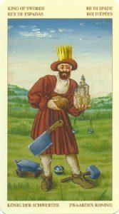 Таро Брейгеля Король Мечей
