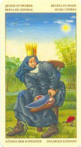 Таро Брейгеля Королева Мечей
