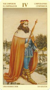 Таро Брейгеля Старший Аркан 4 Император