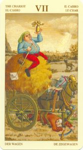 Таро Брейгеля Старший Аркан 7 Колесница