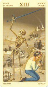 Таро Брейгеля Старший Аркан 13 Смерть