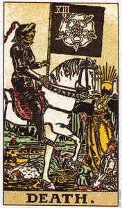 Трактовка Старшего Аркана Колесо Смерть