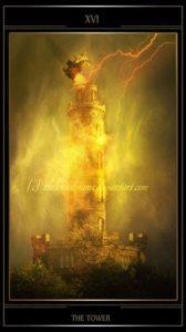 Таро Телема карта Башня