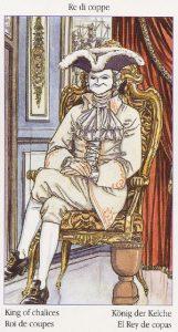 Таро Казановы изображение карты Король Кубков