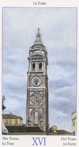 Таро Казановы изображение аркана Башня