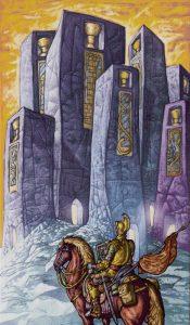 Таро Царство Фэнтези изображение 7 Кубков