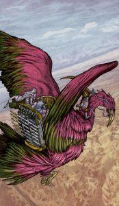 Таро Царство Фэнтези изображение 6 Мечей
