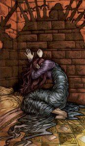 Таро Царство Фэнтези изображение 9 Мечей