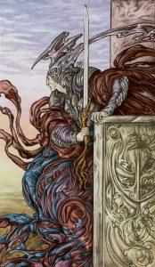 Таро Царство Фэнтези изображение Король Мечей