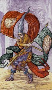 Таро Царство Фэнтези изображение 2 Пентаклей
