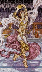 Таро Царство Фэнтези изображение 4 Пентаклей