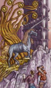 Таро Царство Фэнтези изображение 7 Пентаклей