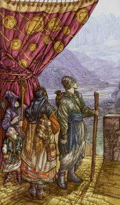 Таро Царство Фэнтези изображение 10 Пентаклей