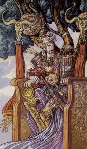 Таро Царство Фэнтези изображение Король Пентаклей