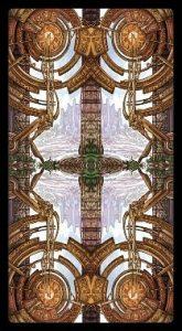 Рубашка колоды Царства Фэнтези