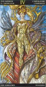Таро Царство Фэнтези аркан 4 Император