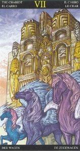 Таро Царство Фэнтези аркан 7 Колесница
