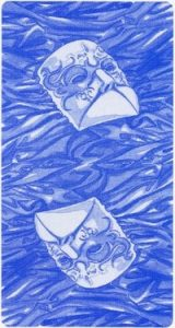 Рубашка карт Таро Казановы