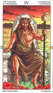 Таро Колесо Года Старший Аркан 4 Император
