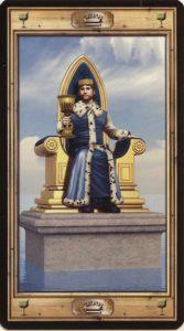 Таро Универсальный Ключ Изображение аркана Король Кубков