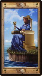 Таро Универсальный Ключ Изображение аркана Королева Кубков
