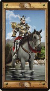 Таро Универсальный Ключ Изображение аркана Рыцарь Кубков