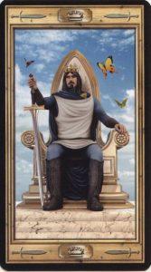 Таро Универсальный Ключ Изображение аркана Король Мечей