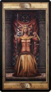Таро Универсальный Ключ Изображение Старшего Аркана 11 Справедливость