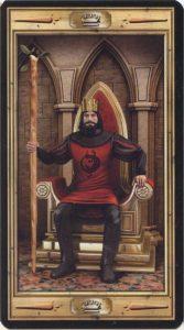 Таро Универсальный Ключ Изображение аркана Король Жезлов